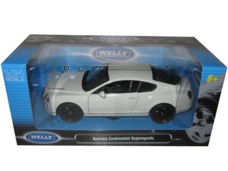 Модель машины 1:24 Bentley Continental Supersports