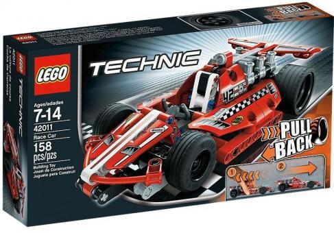 Конструктор LEGO Техник Карт с инерционым двигателем