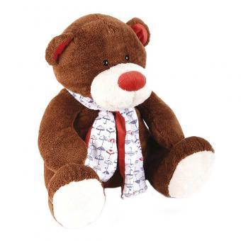 Медвежонок Тимоша, коричневый 28 см