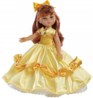 Кукла Кристи принцесса в желтом, 32 см