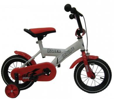 """Велосипед детский IMPULSE RACER 12""""  белый/красный"""