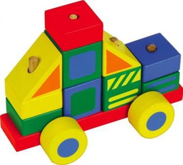Деревянный конструктор-Автомобиль