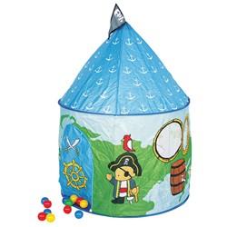 Игровой домик Пираты с мячиками (100 шт)