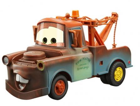 Машинка на радиоуправлении из серии Тачки 2 (Cars 2) Мэтр (Mater)