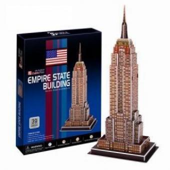 3D Пазл Небоскреб Эмпайр-стейт-билдинг (США)