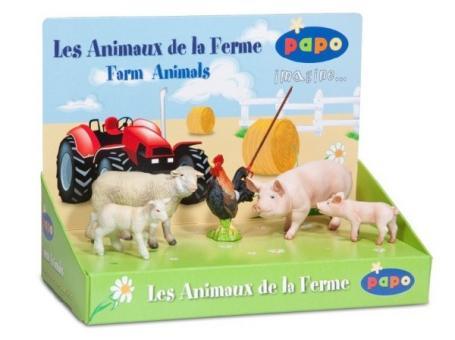 Дисплей: Домашние животные (5 фигурок)