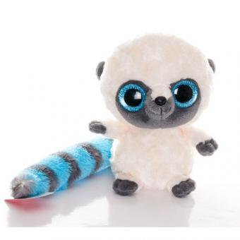 AURORA Юху и друзья Игрушка мягкая Юху голубой 20 см, блестящие глаза
