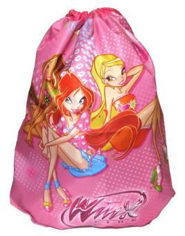 Мешок для обуви Winx розовый