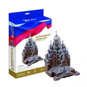3D Пазл Преображенская церковь, Кижи  (Россия)