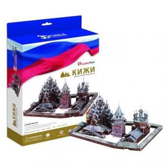 3D Пазл Кижи (Россия)