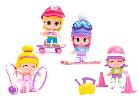 Кукла Пинипон-спортсменка 4 в ассортименте