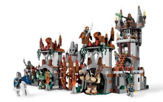 Конструктор LEGO Замок Горная крепость троллей