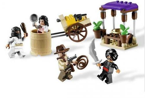 Конструктор Lego Indiana Jones Засада в Каире