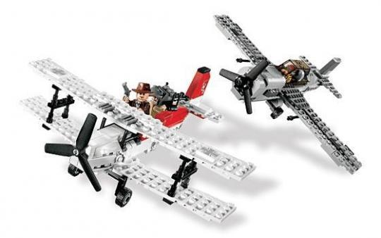 Конструктор Lego Indiana Jones Атака истребителя