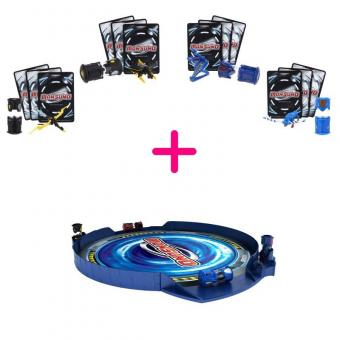 Monsuno Набор для 4 игроков + Мобильный манеж в подарок