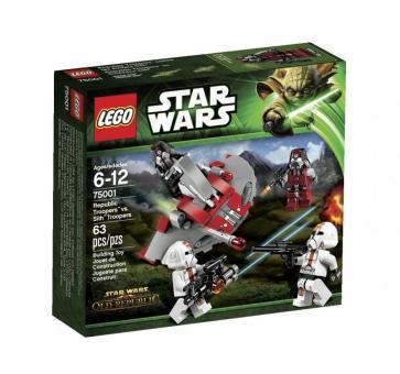Конструктор Lego Star Wars Солдаты Республики против воинов Ситхов
