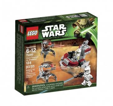 Конструктор Lego Star Wars Штурмовики-клоны против Дроидеков