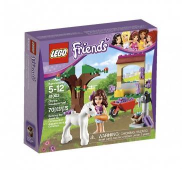 Конструктор LEGO Friends Маленькая лошадка Оливии