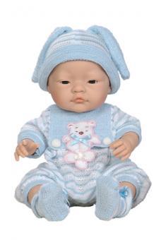 Кукла Baby в одежде, мальчик-азиат, 45см