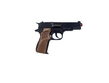 Пистолет Police на 8 пистонов, черный