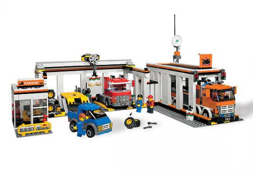 Конструктор Lego City Гараж