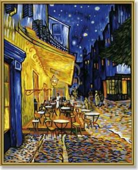 Раскраска по номерам. Ночное кафе. Ван Гог. 40*50 см.