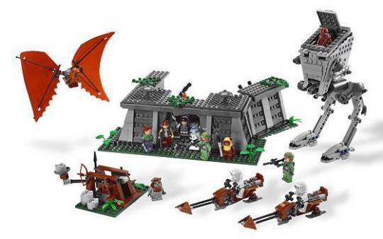 Конструктор Lego Star Wars Битва на Эндоре