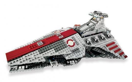 Конструктор Lego Star Wars Атакующий крейсер республиканцев класса Венатор