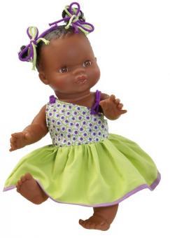 Кукла-пупс  Горди, девочка-мулатка, 34 см