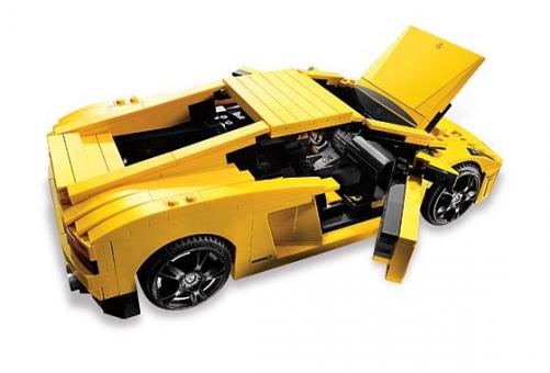 Конструктор LEGO Гонки Lamborghini Gallardo LP560-4 (Ламборджини Галлардо)