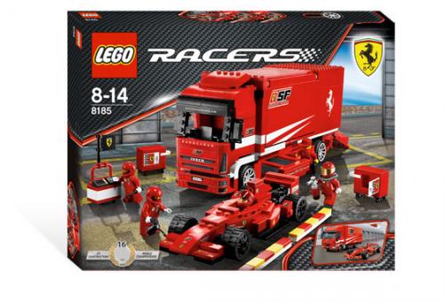 Конструктор LEGO Гонки Грузовик Ferrari