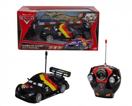 Машинка на радиоуправлении из серии Тачки 2 (Cars 2) Макс Шнель, 1:24, 18 см