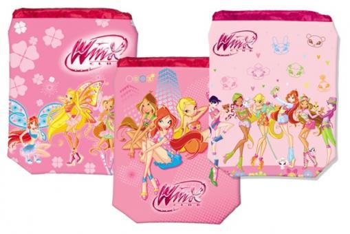Мешок для обуви Winx, розовый, в ассортименте