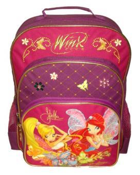Рюкзак школьный Winx, 38*30см