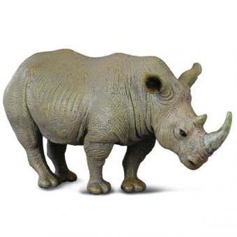 Фигурка Белый носорог, 13 см