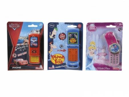 Телефон Герои Диснея, 3 вида