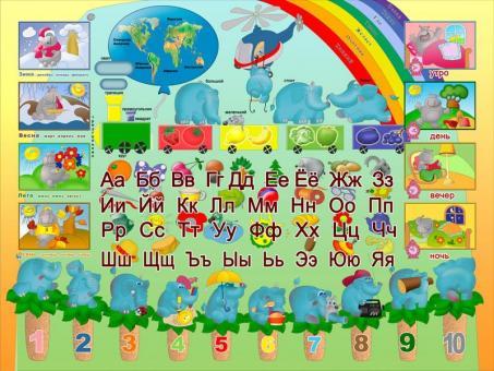 Набор мебели Дэми №3 (синий) слоники