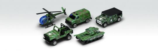 Игровой набор Военно-полицейская команда 5 шт.