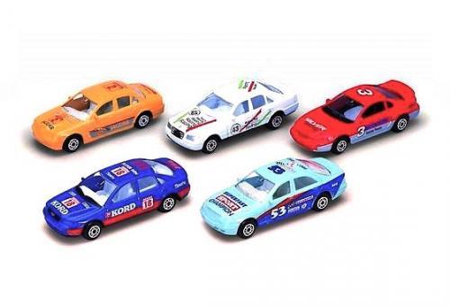 Игровой набор из пяти машин Гоночная команда