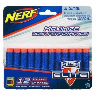 NERF Комплект 12 стрел для бластеров серии Элит