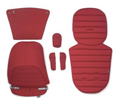 Цветная вставка в коляску Britax AFFINITY (капюшон, накладка на сиденье, вставка в корзину для покупок) красный Chili Pepper