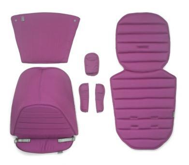 Цветная вставка в коляску Britax AFFINITY (капюшон, накладка на сиденье, вставка в корзину для покупок) розовый Cool Berry