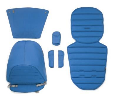Цветная вставка в коляску Britax AFFINITY (капюшон, накладка на сиденье, вставка в корзину для покупок) синий Sky Blue