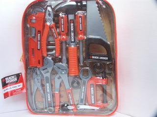Рюкзак с инструментами (25 предм.) Black & Decker