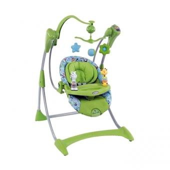 Качели электронные для малышей Graco Silhouette
