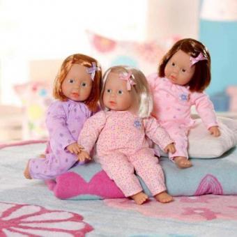 Кукла CHOU CHOU Девочка в комбинезончике, 28 см