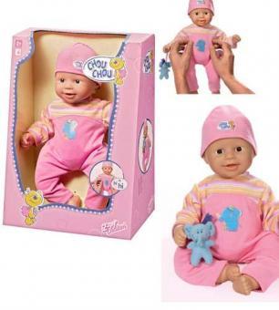 Кукла CHOU CHOU Смеющийся малыш, 36 см