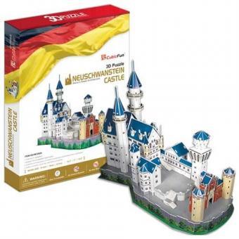 3D Пазл Игрушка  Замок Нойшванштайн (Германия)
