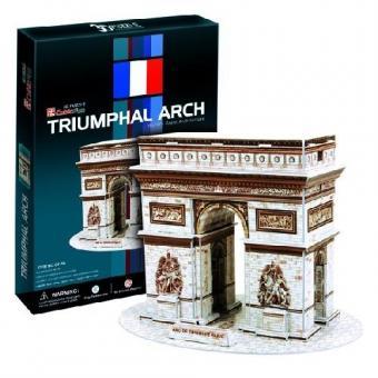 3D Пазл Триумфальная арка (Франция)