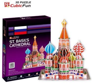3D Пазл Собор Василия Блаженного (Россия)
